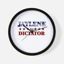 JAYLENE for dictator Wall Clock