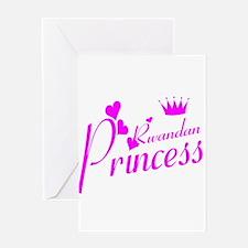 Rwandan princess Greeting Card