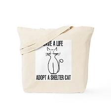 Adopt A Cat Tote Bag