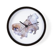 Pekingese Dog Wall Clock