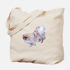 Pekingese Dog Tote Bag