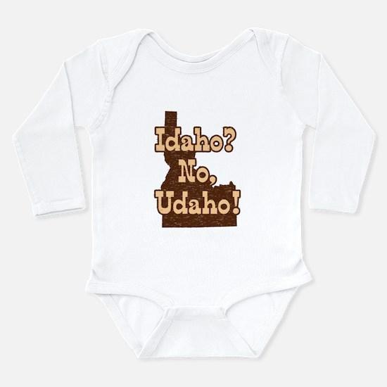 Idaho No Udaho Body Suit