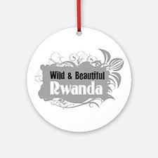 Wild Rwanda Ornament (Round)