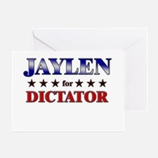 JAYLEN for dictator Greeting Card