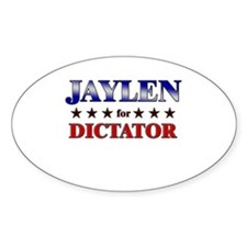 JAYLEN for dictator Oval Decal