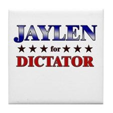 JAYLEN for dictator Tile Coaster