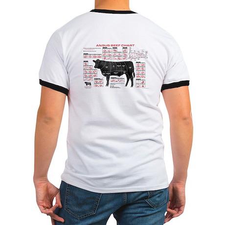 Beef Chart Ringer Tshirt