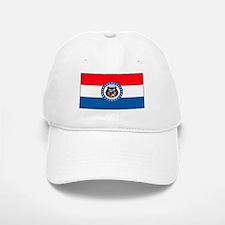 Missouri Blank Flag Baseball Baseball Cap