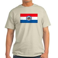 Missouri Blank Flag T-Shirt