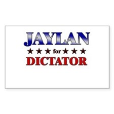 JAYLAN for dictator Rectangle Decal