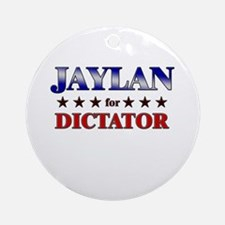 JAYLAN for dictator Ornament (Round)