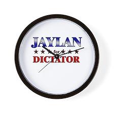 JAYLAN for dictator Wall Clock