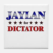 JAYLAN for dictator Tile Coaster