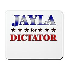 JAYLA for dictator Mousepad