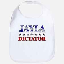 JAYLA for dictator Bib