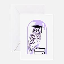 Smart Owl 6 Greeting Card