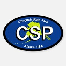 Church State Park Alaska Decal