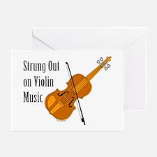 Violin Music Greeting Cards (Pk of 20)