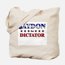 JAYDON for dictator Tote Bag