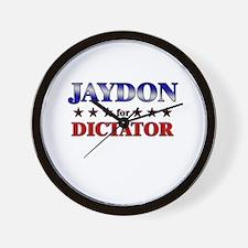 JAYDON for dictator Wall Clock