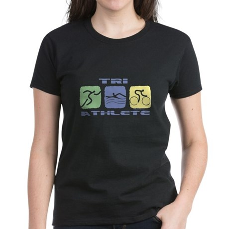 TRI ATHLETE Women's Dark T-Shirt