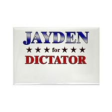 JAYDEN for dictator Rectangle Magnet