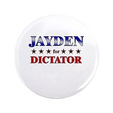 "JAYDEN for dictator 3.5"" Button"