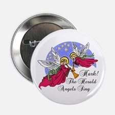 "Hark The Herald Angels Sing 2.25"" Button"
