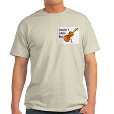 Violin Music Pocket Image T-Shirt