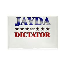 JAYDA for dictator Rectangle Magnet