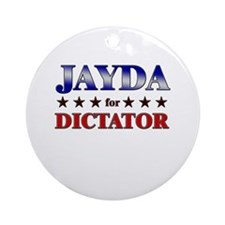 JAYDA for dictator Ornament (Round)