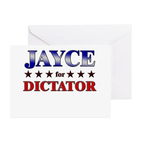 JAYCE for dictator Greeting Cards (Pk of 20)