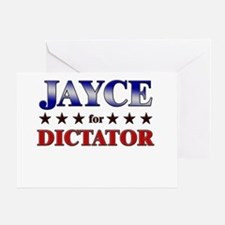 JAYCE for dictator Greeting Card