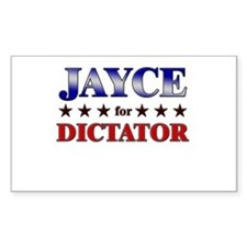 JAYCE for dictator Rectangle Decal