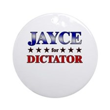 JAYCE for dictator Ornament (Round)