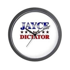 JAYCE for dictator Wall Clock