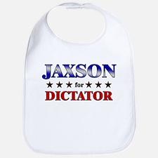 JAXSON for dictator Bib