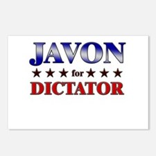 JAVON for dictator Postcards (Package of 8)