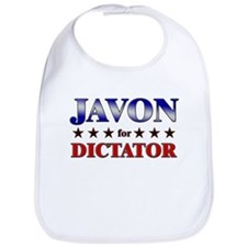JAVON for dictator Bib