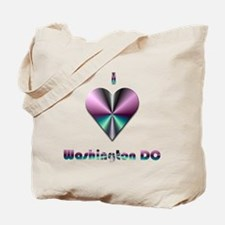 I Love Washington DC #2 Tote Bag