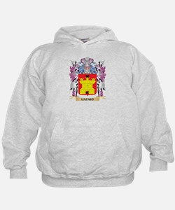 Lazaro Coat of Arms - Family Crest Hoodie