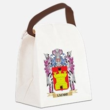 Lazaro Coat of Arms - Family Cres Canvas Lunch Bag