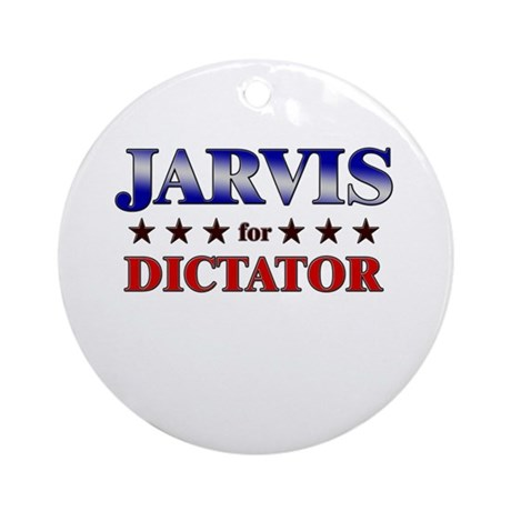 JARVIS for dictator Ornament (Round)