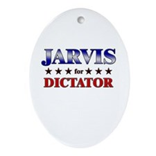 JARVIS for dictator Oval Ornament