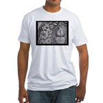 New Orleans Cemetery Fitted T-Shirt