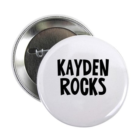 "Kayden Rocks 2.25"" Button"
