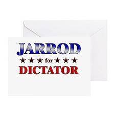JARROD for dictator Greeting Card