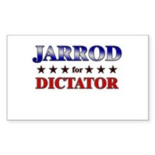 JARROD for dictator Rectangle Decal
