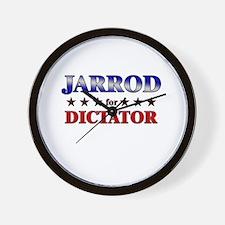 JARROD for dictator Wall Clock