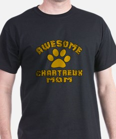 Awesome Chartreux Mom Designs T-Shirt